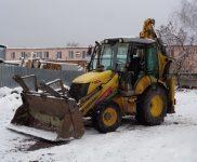 Трактор для уборки дорог
